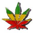 Venta caliente fashioncustom logotipo en blanco de los pernos de la solapa insignia de metal-- hojas de colores
