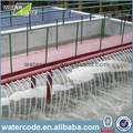 equipamiento de tratamiento para aguas residuales con alta área de filtro