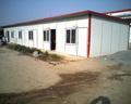ISO casa contenedor en las obras de construccion