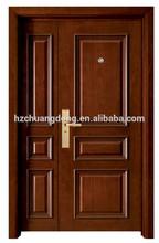 decorativos de armadura de acero de la puerta