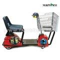 Eléctrica del supermercado carrito de la compra con el ce aprobado dl24500- 3s( china)