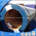 tubo de carbono de gran diámetro
