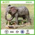 decorativos de elefante de resina figuras de la vida silvestre