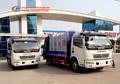 Recogida de basuras del vehículo, trashmaster/polvo carrito, diesel compactador de basura de camiones