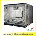 Heavy duty 2.4x2.4x2cm mylar la planta de crecer tienda de campaña para sistema de hidroponía