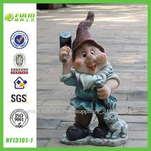 venta al por mayor al aire libre de la resina figuras gnome