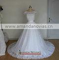 foto real romance designer vestido de noiva de renda estilo árabe vestido de casamento vestido para noiva