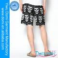Nueva llegada moda cráneo pantalones cortos de natación para los hombres