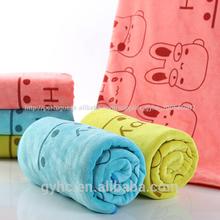 turco de bambu impresso animal foto de bebê toalha de banho de tecido