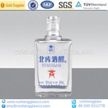 de alta calidad de vacío de vidrio pequeñas botellas de bebidas