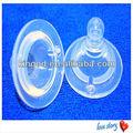 cuello ancho pezón de silicona para el bebé