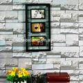 la decoración de papel de nido de abeja de triple barato ventanas de marco de fotos en la pared con múltiples imágenes