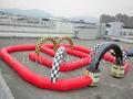 pista de carreras inflable para karts