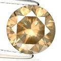1.61 ct. Notablemente superior natural gris diamante con gemas glc certificar
