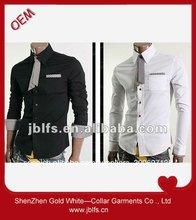 de negocios más recientes diseños de camisetas para hombres