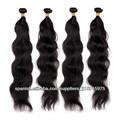 Top calidad natural del pelo que teje la onda al por mayor del pelo brasileño