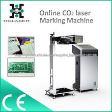 máquina de grabado en botellas por láser co2