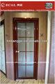 de alta calidad de aluminio puertas de cuarto de baño