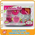 Plástico nuevo pp de juguetes para niños juego de la cocina conjunto de juguete