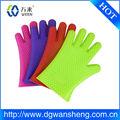 Silicone resistente ao calor luvas/luvas de borracha de silicone de alta temperatura