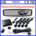 Sensor De Reversa Cámaras Con Espejo Retrovisor Para Aparcamiento