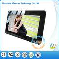 Función multi Marco del espejo de 7 pulgadas mini foto digital de tarjetas SD Viewer