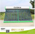 Hecho en China tubo vacío calentador de agua solar