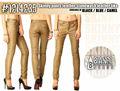 Mujer pantalones pitillo de cuero - como - stonewash Cuero