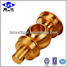 china cnc fabricación de piezas de latón de oem