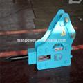 po43 serie caja de tipo interruptor de rock con 75mm cincel para el cargador