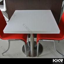 kkr piedra de ingeniería restaurante de mesas y sillas