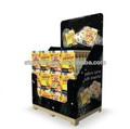 estándar y elegante soporte de exhibición para artículos de cocina de fabricación china
