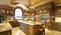 mueble de cocina de madera sólida del diseño DJ-K124