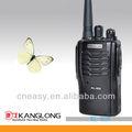 5w longa distância uhf 2 via rádio walkie talkie kl-608 com rádio fm