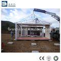 Panel sándwich de acero estructura de contenedores pre-compilados para el hogar