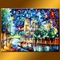 venta al por mayor hecho a mano moderno arte de la pared de la moda de pinturas para la decoración