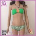2014 Hot Sexy Girl Mujeres Bandeau Bikini PP4244 Bikinis Sexy Mujeres
