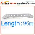 de aluminio servo brazo 25t 96mm larga de metal servo brazo compitable con futuba towerpro fitec hsp hpi tamiya pieza del coche