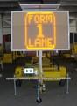Solar Traffic VMS LED Sign Remolque