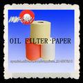 papel de filtro de aceite