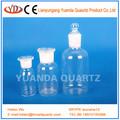 flacon de réactif de laboratoire de quartz