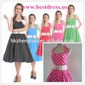 más barato 2014 bestdress venta caliente rockabilly pinup venta al por mayor vestido de las mujeres de rock and roll