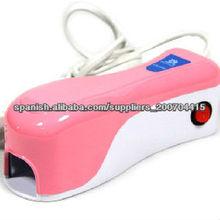 2013 venta caliente salón de uñas Secador Mini 1W LED LÁMPARA ULTRAVIOLETA del CLAVO Para un dedo a la vez