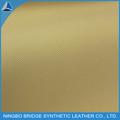 Celosía de buena calidad impresa de cuero de chancho de la PU para forro de zapato