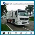 novos caminhões de lixo sinotruk qdz5160zysa