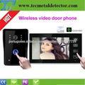7 polegadas do telefone da porta de vídeo sem fio intercomunicador de longa distância TEC706VJW11