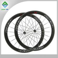 carbono de la bicicleta de carbono de los artículos de la rueda de la carretera 50mm completo de fibra de carbono de la rueda