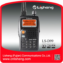 Larga Distancia Dual Band FM LS-D99 Radio portátil de doble banda