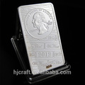 1 troy oz 999 de barras de plata& réplica de barras de plata& lingotes de plata de bares