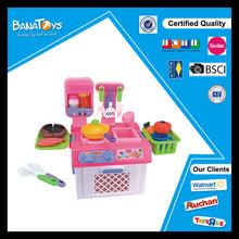 nuevo y moderno diseños de cocina de cocina para niños conjunto de juguete